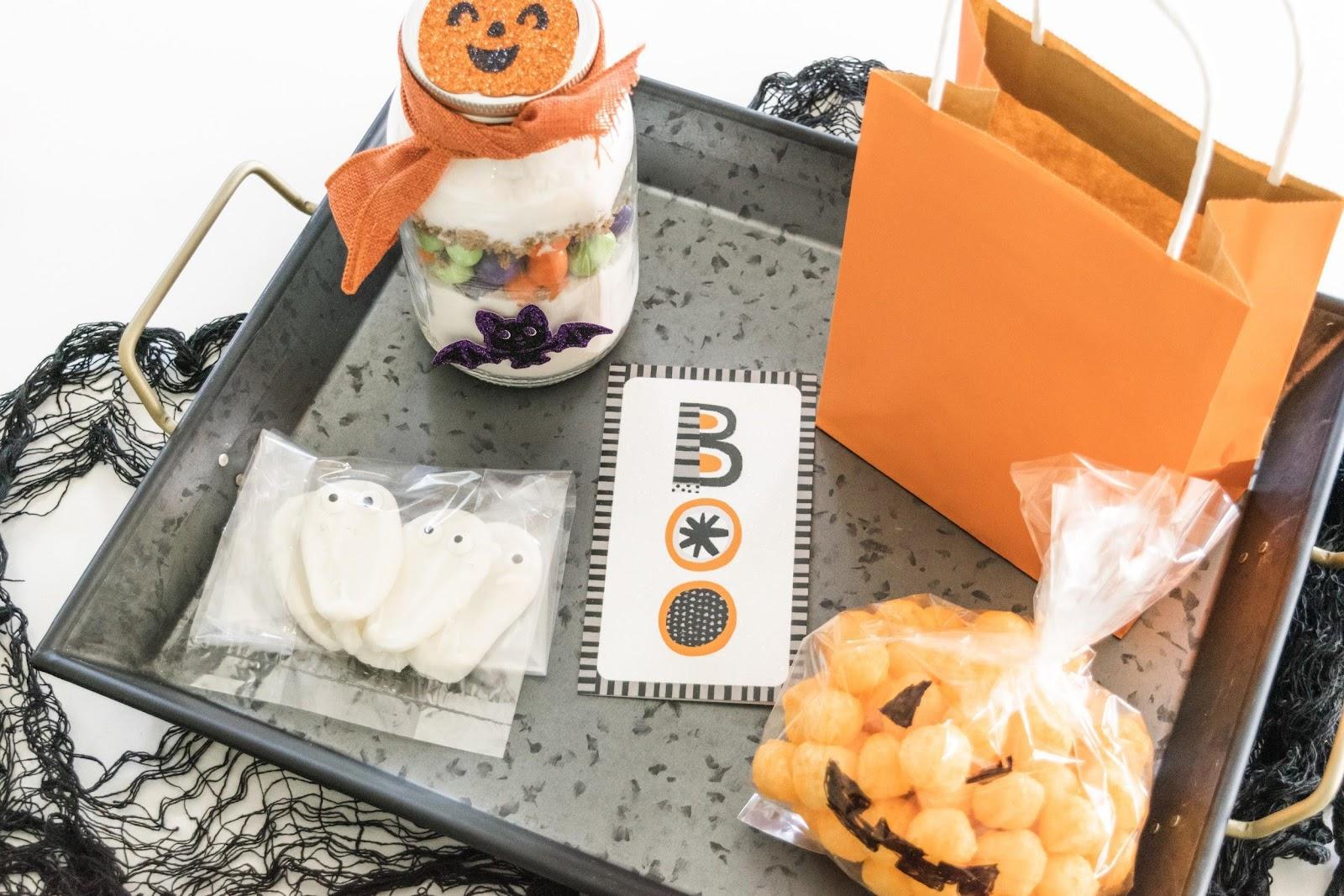 Boo Kit & Mason Jar M&M'S Ghoul Cookies