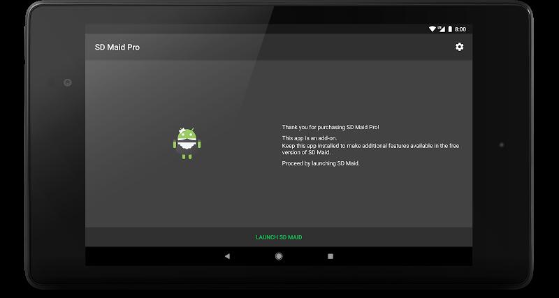 SD Maid Pro - Unlocker Screenshot 9