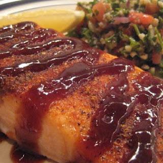 Spice-Rubbed Lemon Barbecue Salmon.