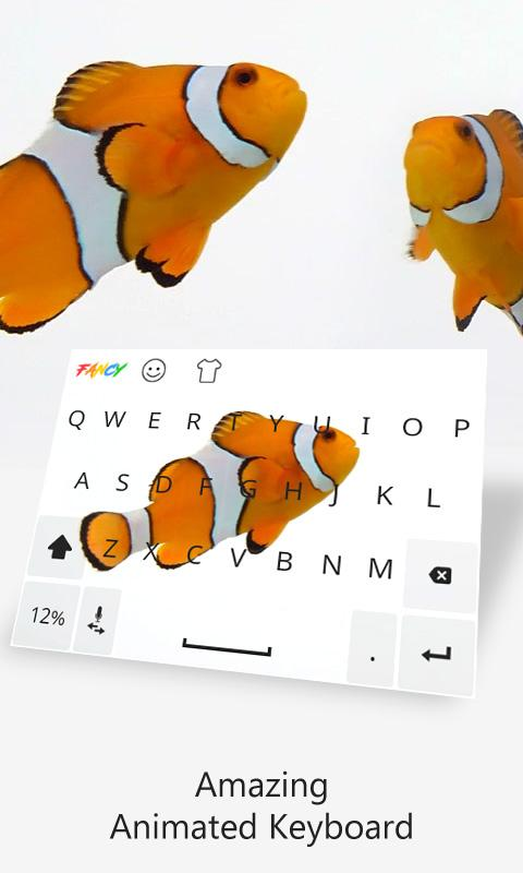Fancy Keyboard Live & Animated- screenshot