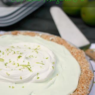Key Lime Margarita Pie.