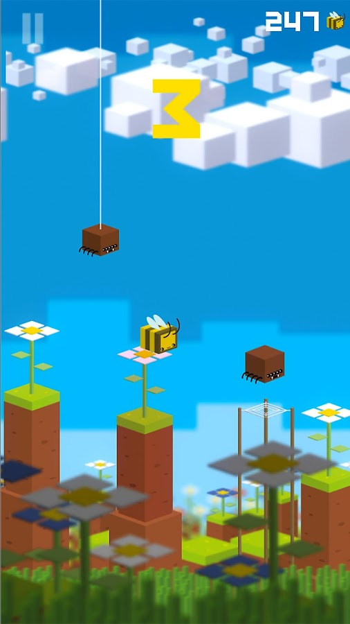 Bee Bounce- screenshot
