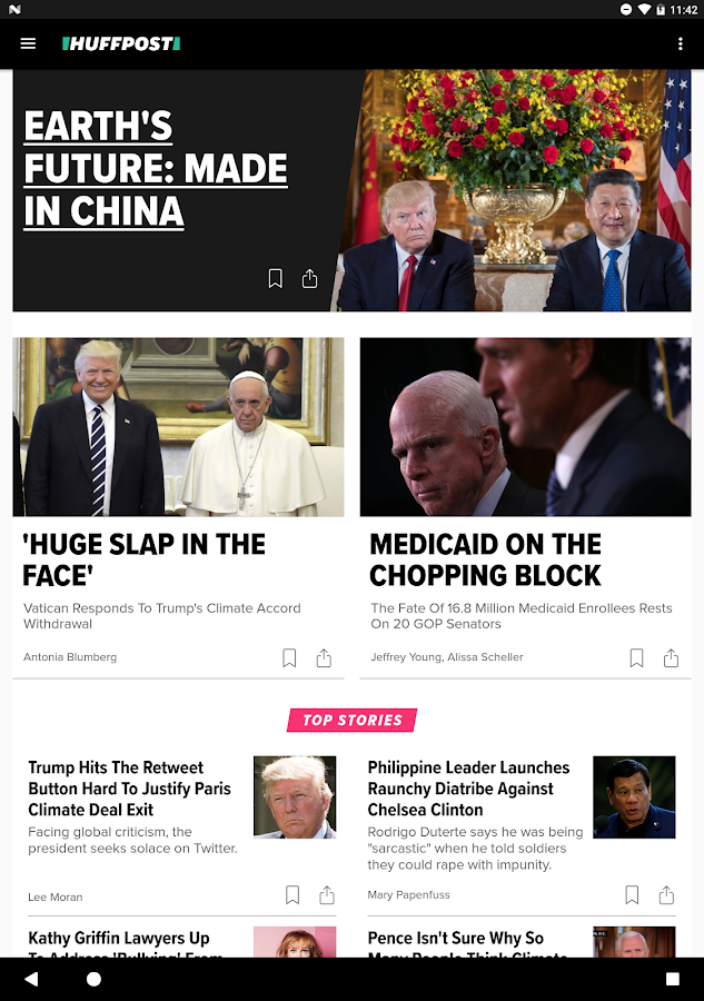 HuffPost - News- screenshot