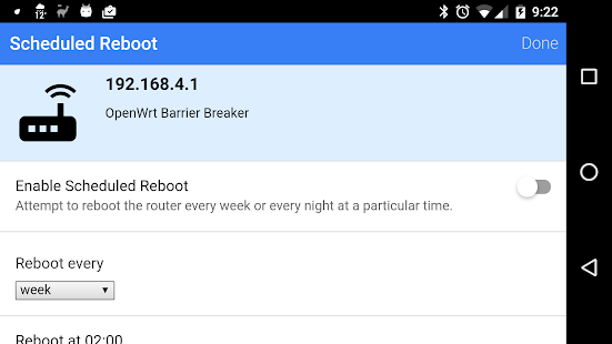 Download Reboot My OpenWRT Router For PC Windows and Mac apk screenshot 10