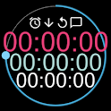 Talking Stopwatch & Timer [Countdown/up Interval] icon