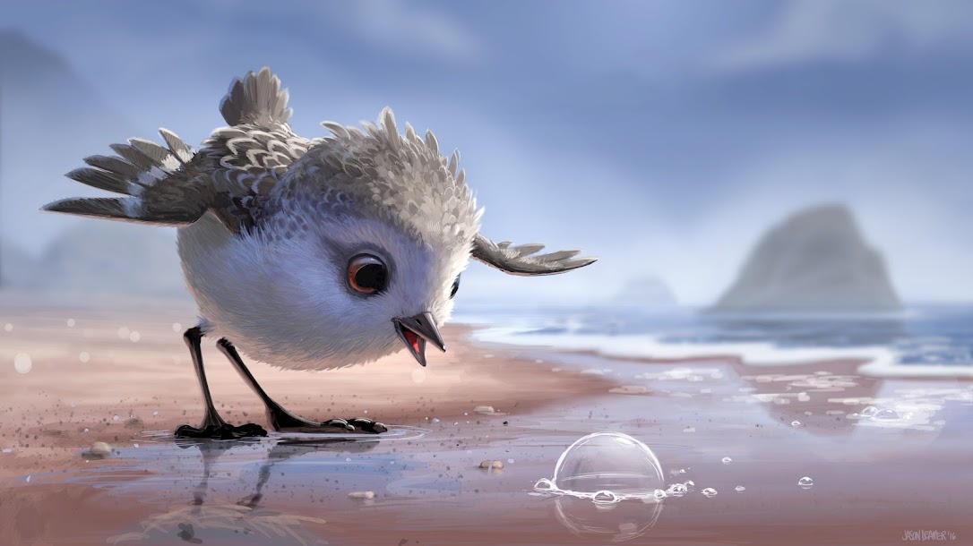 New Disney/Pixar Short Film Piper, Shown Before Finding Dory