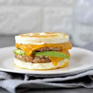 Keto Sausage and Egg Breakfast Sandwich Recipe