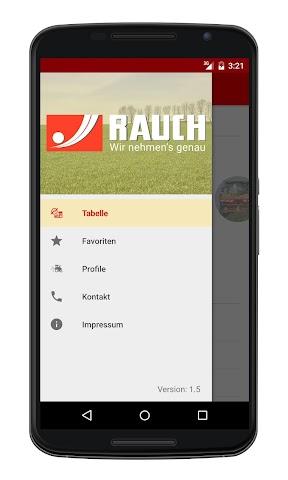 android RAUCH Fertilizer Chart Screenshot 0