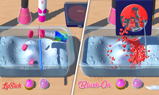 DIY Makeup Slime Maker! Super Slime Simulations screenshot 2