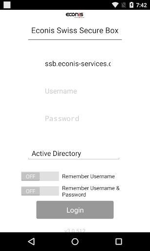 Econis Swiss Secure Box