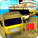 Cargo Ship Car Transporter 3D icon