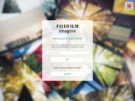 Screenshot of FUJIFILM Imagine