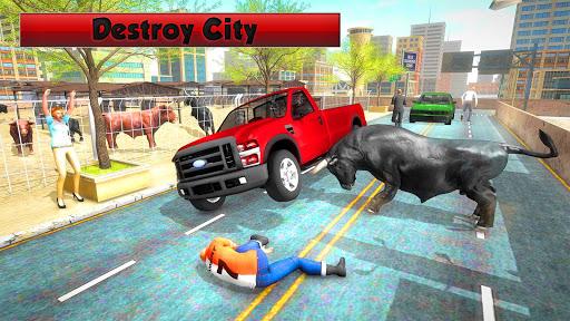 Angry Bull Simulator 2019: Bull Attack Games 3D 1.0 androidappsheaven.com 2