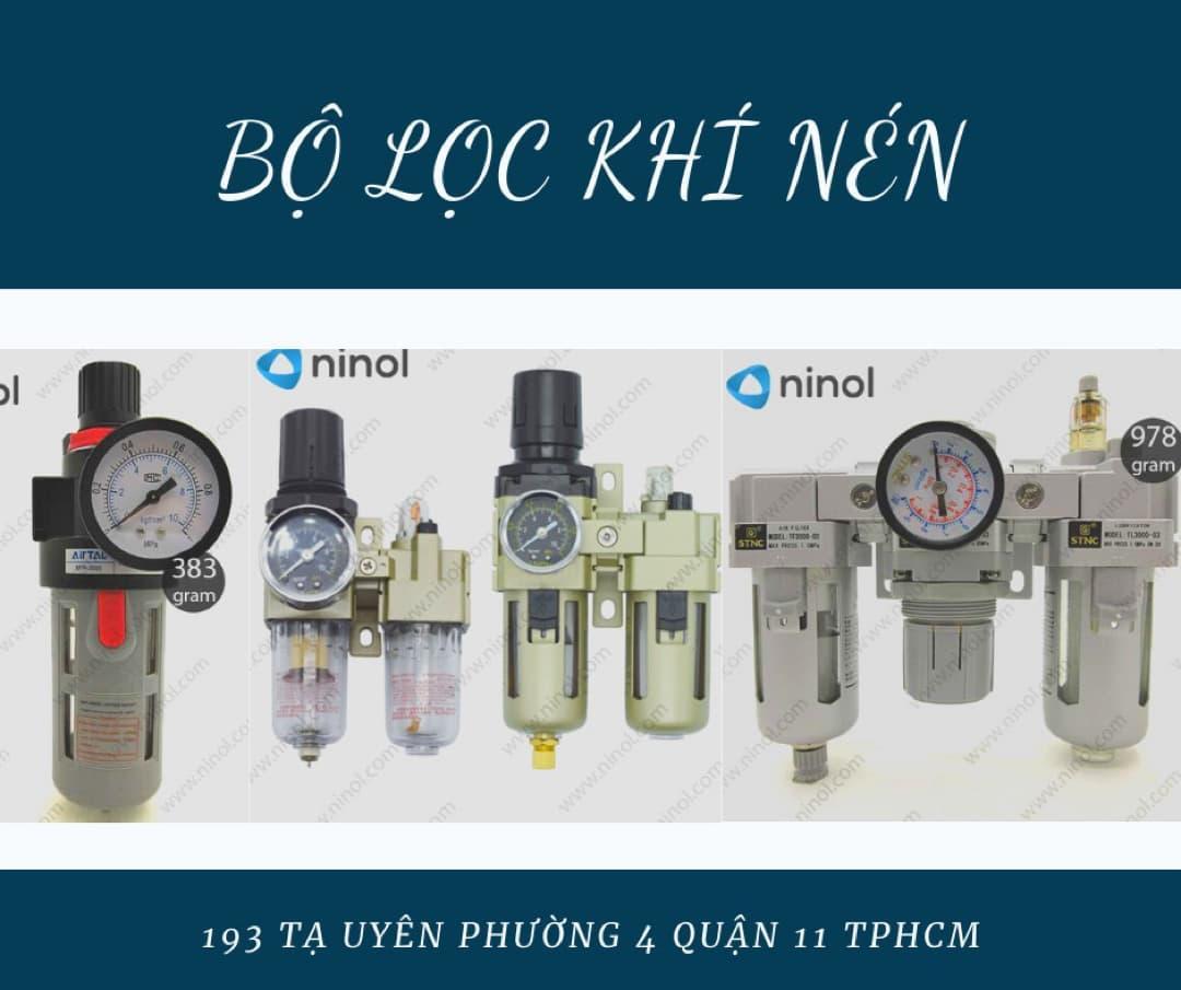 Bộ lọc khí nén chính hãng được bán tại Ninol
