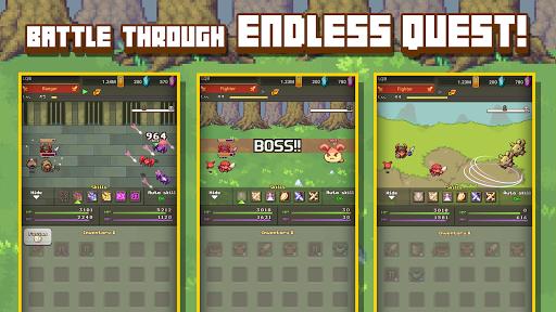 Linear Quest Battle: Idle Hero 0.68 screenshots 6