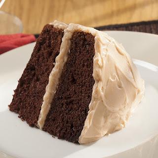 Double Mocha Cappuccino Chocolate Cake.