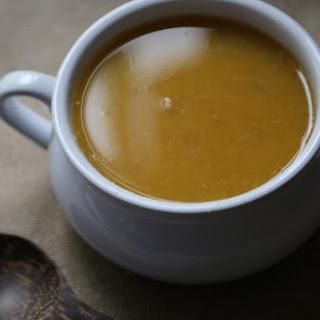 Crock Pot Butternut Apple Soup