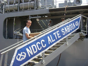 Photo: Embarcando no NDCC Alte Saboia