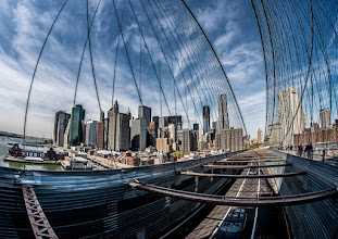 Photo: Took this shot of Manhattan during a walk on the Brooklyn Bridge a couple of weeks ago.  #BreakfastClub curated by +Gemma Costa