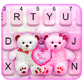 Teddy Bear Couple Keyboard Theme Android APK Download Free By Theme Design Apps For Android