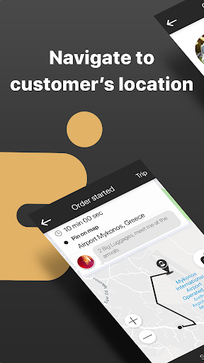 iMove App for Driver screenshots 1