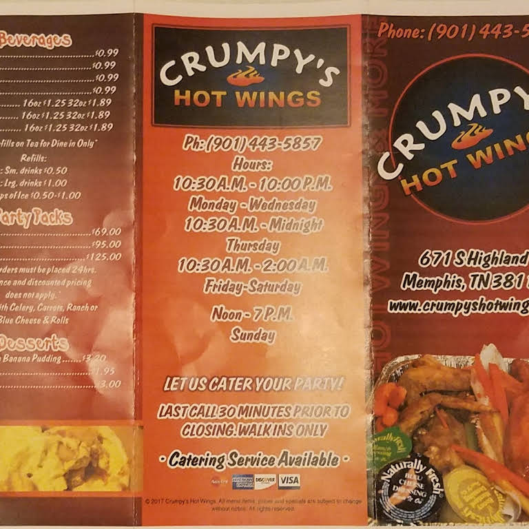 Crumpy S Hot Wings On Highland The Best Hot Wings Restaurant In