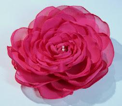 Photo: Роза из ткани