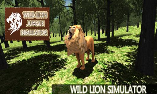 Wild Lion Jungle Simulator