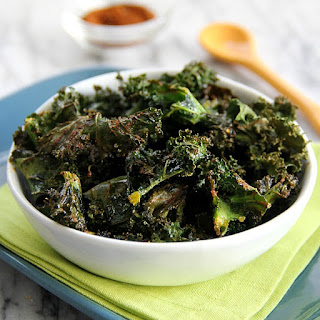 Zesty Baked Kale Chips.