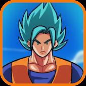 Super Dragon Z Goku Saiyan Fly