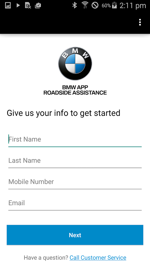 BMW Roadside   Android Apps on Google Play