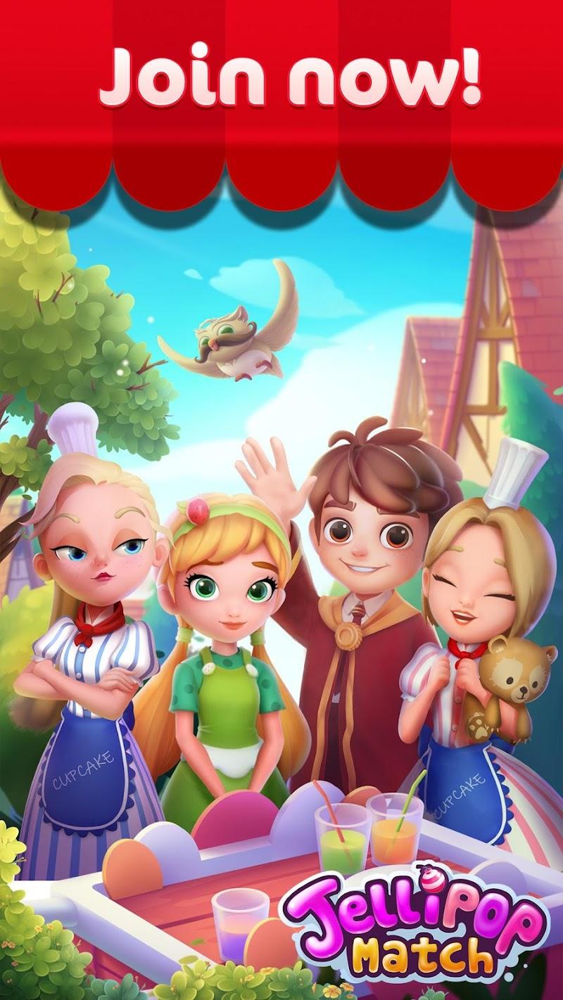 Jellipop Match: Open your dream shop! Screenshot 4