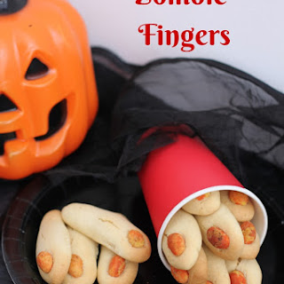 Halloween Zombie Fingers Recipe