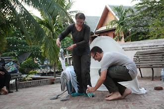 Photo: Spectacle à l'institut Français du Laos Luang Prabang - Laos 16 Mai 2012
