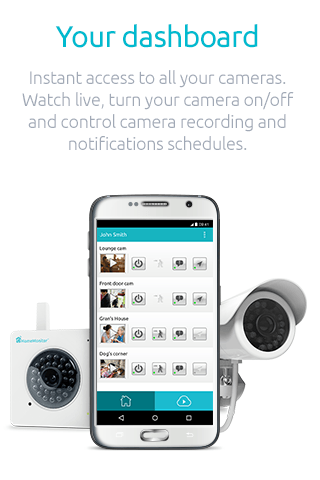Y-cam HomeMonitor- screenshot