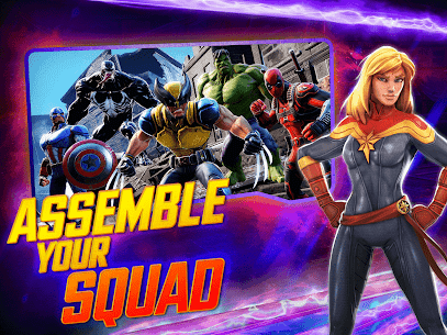 MARVEL Strike Force MOD (Unlimited Energy) 7