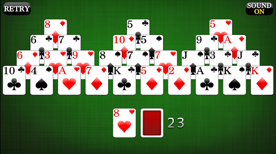 TriPeaks [card game] 1