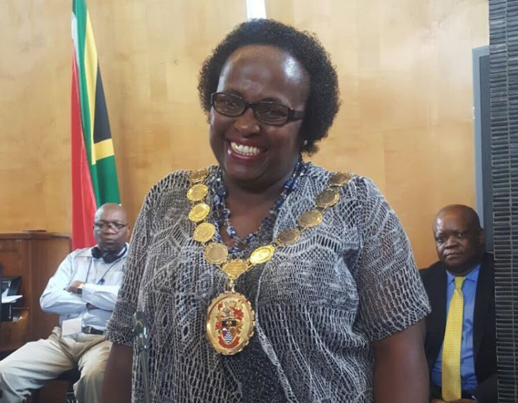 The new SACP Executive Mayor' Lindiwe Tshongwe, for the Metsimaholo Municipality in the Free State.
