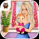Sweet Baby Girl - Newborn Baby icon