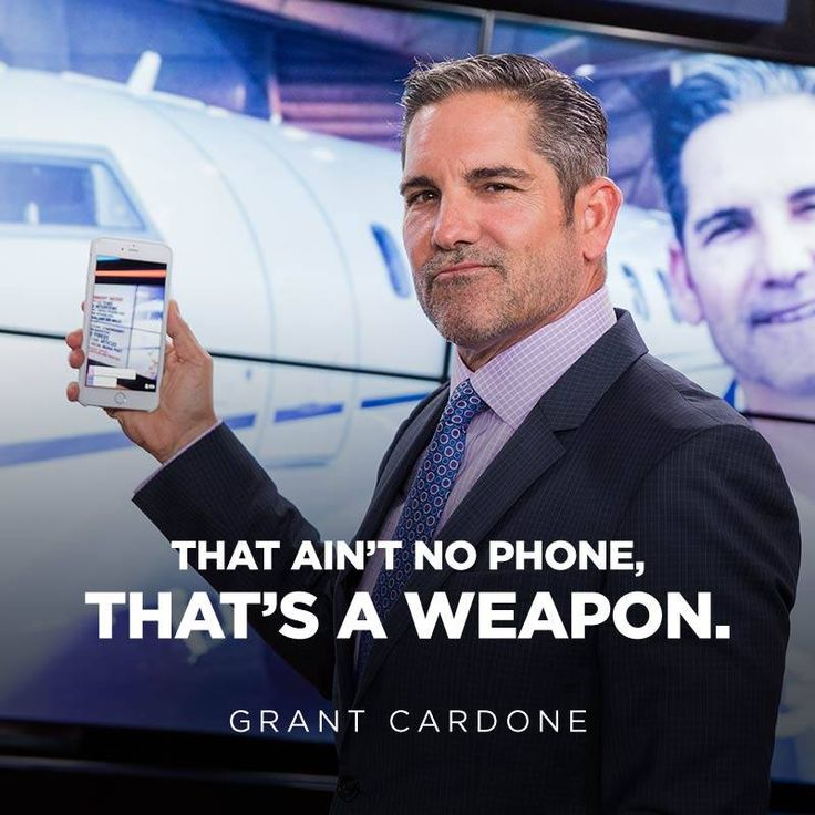 Grant Cardone Phone Sales Training