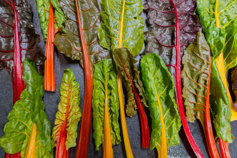 Cromoterapia di verdura di Contias