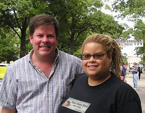 Photo: Durham activist and ally John Schelp of the Old West Durham Neighborhood Association (my former neighborhood).