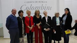 Inauguración de la exposición sobre Carmen de Burgos, Colombine.