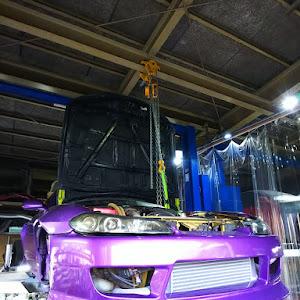 シルビア S15 スペックRのカスタム事例画像 ホイールカスタムファクトリーKz  金沢市さんの2020年05月08日22:36の投稿