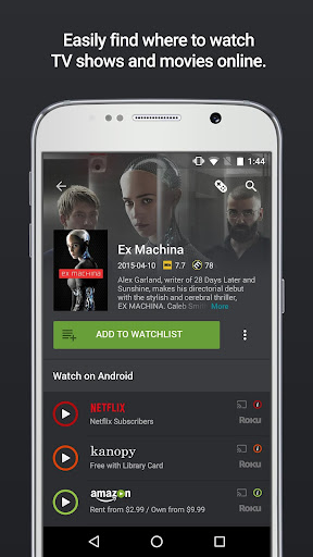 Yidio - Streaming Guide - Watch TV Shows & Movies Apk 1