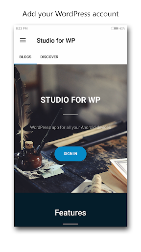 studio for wp - manage blogs screenshot 1