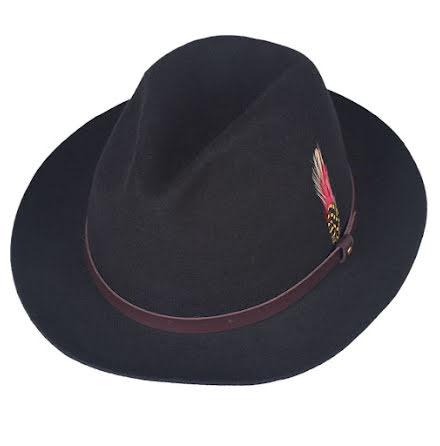BB Snap Brim hatt, svart
