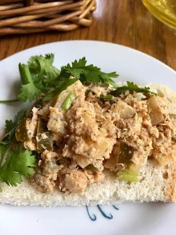 Spicy Low Calorie Tuna Fish Salad