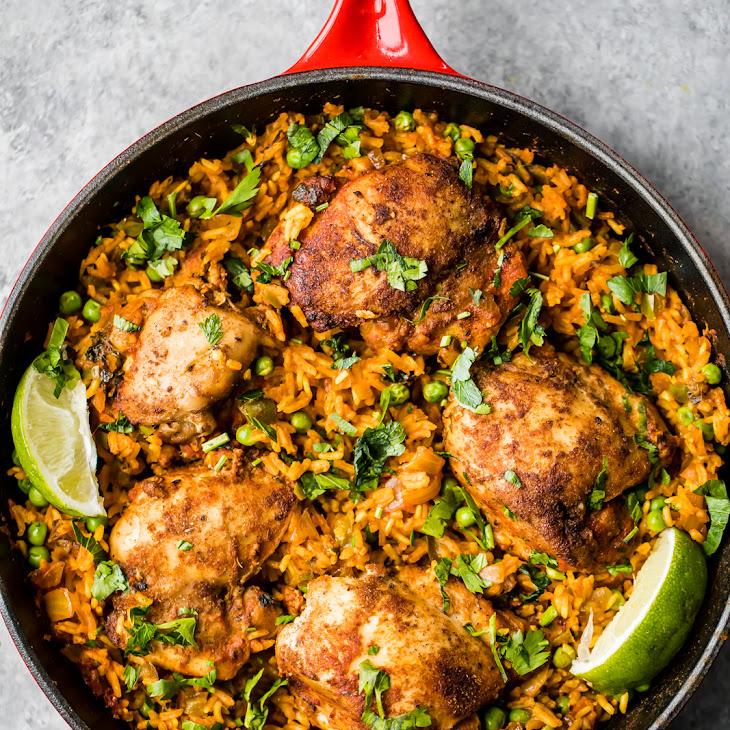 Mama'S Puerto Rican Chicken and Rice (Arroz Con Pollo) Recipe