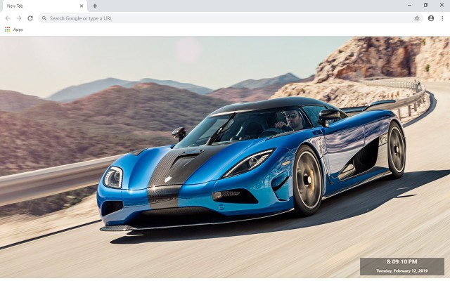 Koenigsegg New Tab & Wallpapers Collection